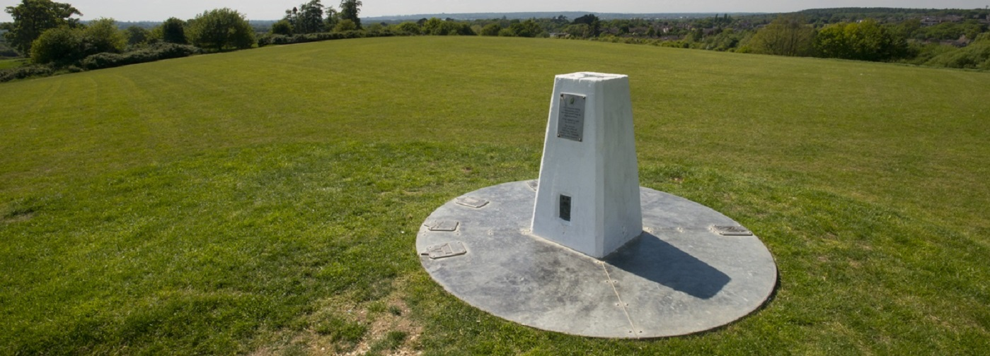 Photo of obelisk at Knowle Park