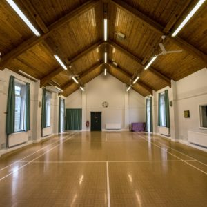 Photo of main hall, Horton Heath Community Centre (internal)